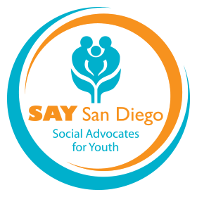 Image result for say san diego logo